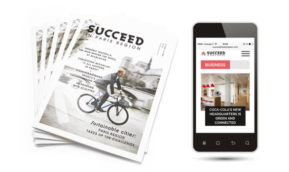 Le mag' cross-média <br>Succeed in Paris Region