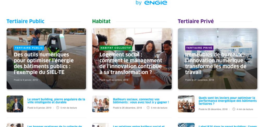 Référence Vertuoz by ENGIE agence Okédito inbound marketing Paris et Lyon