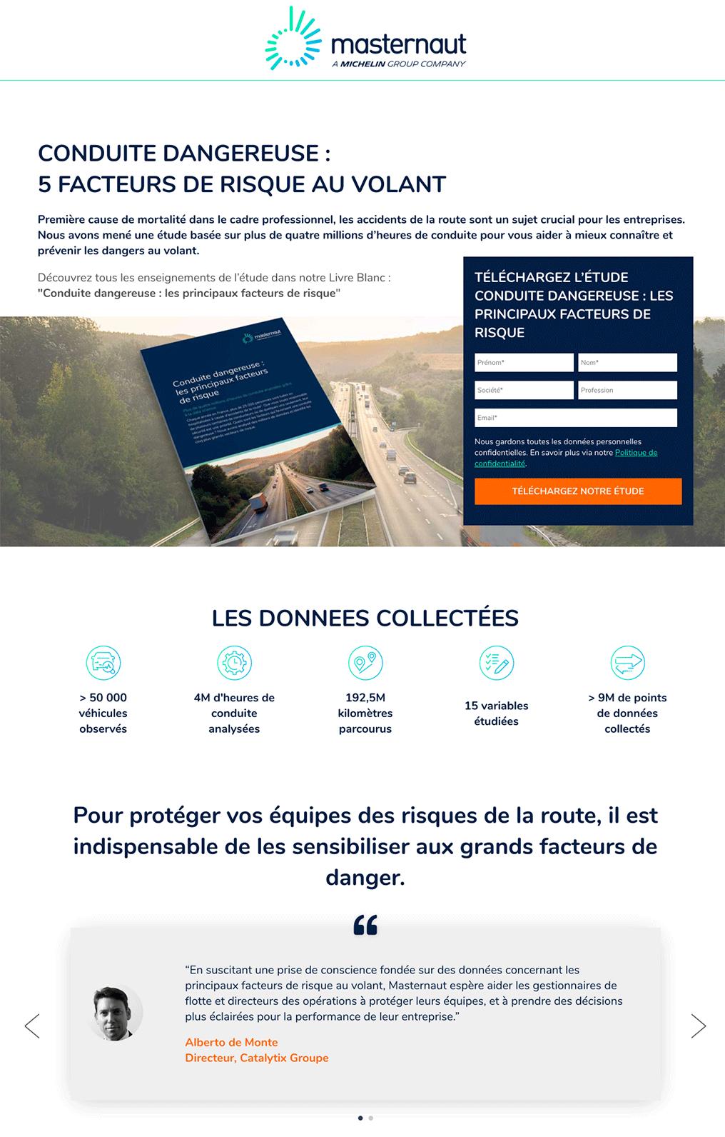 Formation marketing digital : exemple de landing page avec HubSpot