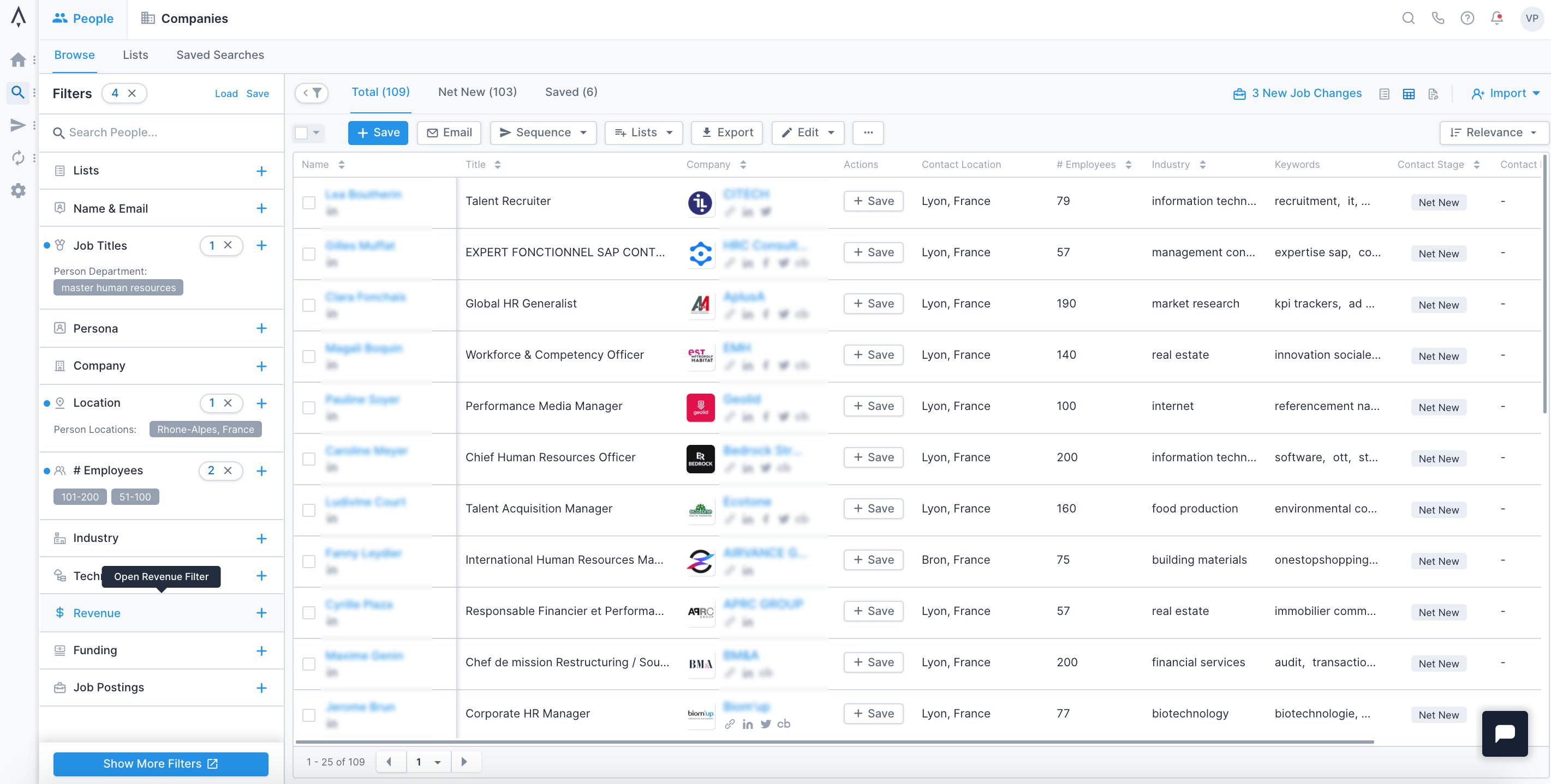 Formation marketing digital : sélection des contacts ICP avec Apollo.io